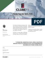Tributação Nos FIIs - Clube FII