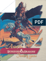 AD&D 2nd Ed - The Art of the Dungeons & Dragons Fantasy Game (TSR8443)