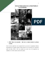 30 Hechos Relevantes en La Historia de Occidente