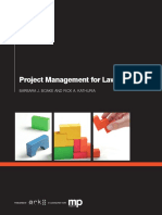 ARK1660 - Project Management for Lawyers_Part Report