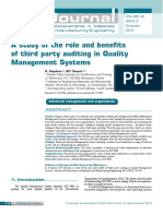 A study of the role and benefits of third party auditing in QMS.pdf