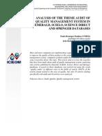 ISO 9001:2015 AUDIT