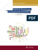 Metalinguistic Exercises as Classroom Activities