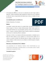 1.1 Las Caracteristicas de Los Materiales.