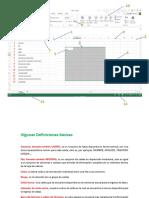 Definiciones Básicas Excel