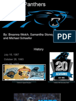 carolina panthers- revised