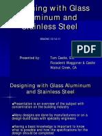 Glass Aluminum Stainless Steel 2011