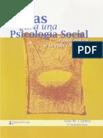 Correa a. Notas Para Una Psicologia Social