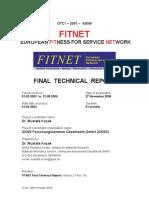 FITNET FinalTech Report