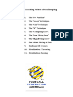 the key coaching points of goalkeeping 4