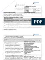 Planificador de Unidades Del PD Ejemplo 1 Historia