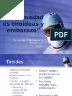 Enfermedades Tiroideas y Embarazo