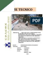 Estudio de Suelos Calicatas de Santa Teresa Uchumayo