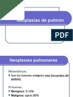 Ficha 31y 32 UNIDAD 8 Neoplasias de Pulmon Pleura y Mediastino