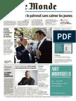 Le Monde 3 en 1 Du Mercredi 13 Avril 2016