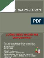 Uso de Diapositivas