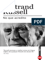 No Que Acredito - Bertrand Russel