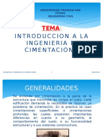 Ingenieria de Cimentaciones Introduccion 2016 i