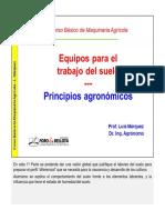 Maquinaria Agricola Principios Agronomicos