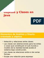 Objetos Clases y Referencias en Java