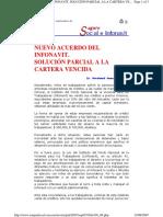 Nuevo Acuerdo Del Infonavit. Solucion Parcial a La Cartera V