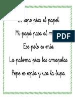 Tarjeta papa