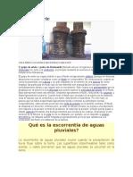 Golpe de Ariete y Fuentes Pluvialews