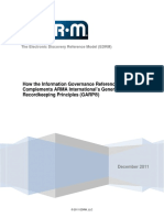 White Paper EDRM Information Governance Reference Model IGRM and ARMAs GARP Principles 12-7-2011