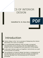Basics of Interior Design