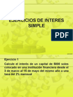 Ejercicios de Interes Simple Ppt