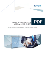 Book de Stages ALTRAN Sud Ouest 2015_2016