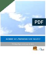 SOBRE EL PRIMERO DE MAYO
