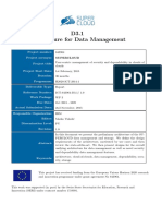 SC D3.1 Data Management Architecture PU M09