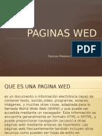 Paginas Wed