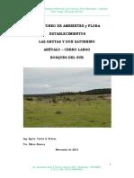 Informe Flora Grutas Don Saturnino 2013