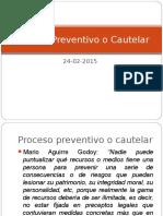 Proceso Cautelar en Guatemala