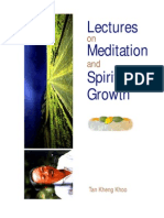 Tan Kheng Khoo - Lectures on Meditation and Spiritual Growth