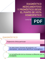 Diagnóstico Medicamentoso