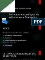 Software (Metodologías de Adquisición y Evaluación)