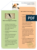 journaling strategy