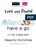 Lost and Found Have a Go in the Classroom