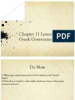 ancient greek goverments lesson