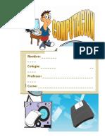 Caratula Computacion t Carpeta