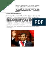 Presidentes Del Peru(No Hay)
