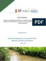 Clasificacion de La Agricultura en El Salvador