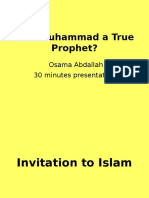 Was Muhammad a True Prophet