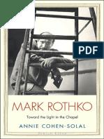 Mark Rothko Toward the Light