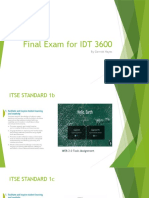 final exam ppt