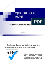 Redigindo Documentos