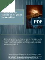Trabajo de Los Sueños en El Grupo Terapéutico